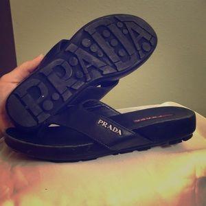 Prada sandal flip flop Sz. 6
